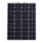 80W 12V Solar Panel With 5m Cable For Caravans