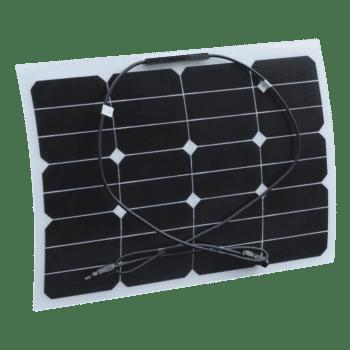 30W 12V Semi Flexible Solar Panel