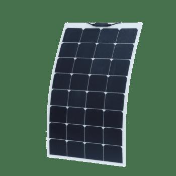 80W 12V Semi Flexible Solar Panel