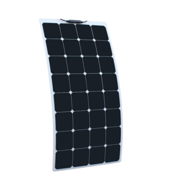 100W 12V Semi Flexible Solar Panel