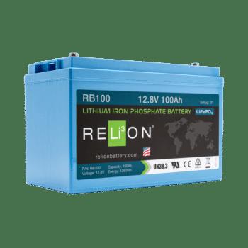 Relion LiFePO4 100Ah High Performance (RB100-HP)