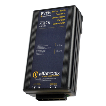Alfatronix Powerverter PV18S 24V to 12V 18A non isolated