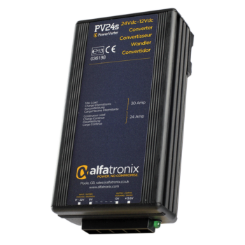 Alfatronix Powerverter PV24S 24V to 12V 24A non isolated