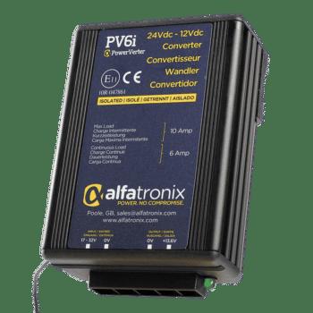 Alfatronix Powerverter PV6i 24V to 12V 6A isolated
