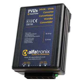 Alfatronix Powerverter PV12S 24V to 12V 12A non isolated