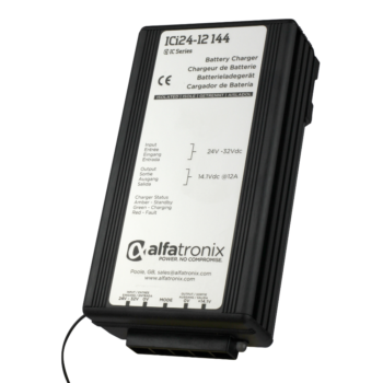 Alfatronix 24VDC Battery to 12VDC Battery Charger 12A