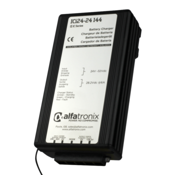 Alfatronix 24VDC Battery to 24VDC Battery Charger 6A